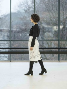 Rock Maria Snow - Pencilskirt Damenrock aus Bio-Baumwolle - Sophia Schneider-Esleben