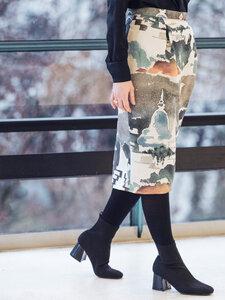 Rock Maria Bali - Wickelkleid Damenkleid aus Bio-Baumwolle - Sophia Schneider-Esleben