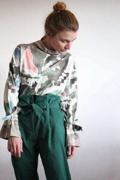 Pullover Tina Bali - Pullover Sweatshirt aus Bio-Baumwolle