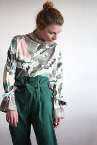 Pullover Tina Bali - Pullover Sweatshirt aus Bio-Baumwolle - Sophia Schneider-Esleben