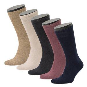 5er Set Wolle / Biobaumwolle Socken - Opi & Max