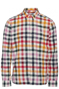 LARCH LS checked shirt - KnowledgeCotton Apparel