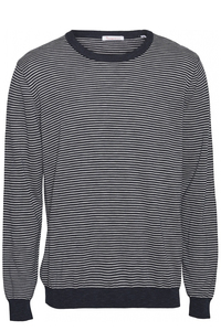 FORREST o-neck striped tencel knit - KnowledgeCotton Apparel