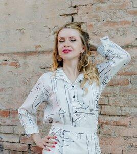 Shirt Paul Snow - Unisex Hemd Damenhemd und Herrenhemd aus Bio-Baumwolle - Sophia Schneider-Esleben