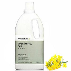Veganes Allergiker Bio Waschmittel Sensitive PUR - NATUREHOME