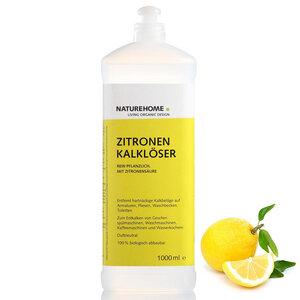 Bio Kalklöser Zitronen 1,0 L Vegan - NATUREHOME