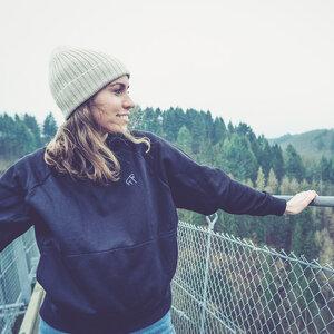 Goaty - Frauen Pocket Sweater - Black - dressgoat