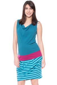ANTONIA Umstands-& Stillkleid aus Bio Baumwolle - Milchshake