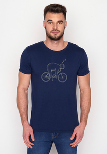 T-Shirt Guide Bike Sloth - GreenBomb