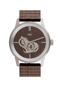 FOREMAST Automatic SILVER CHOCO - Wewood
