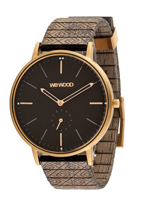 ALBACORE ROSE GOLD BLACK CHOCO - Wewood