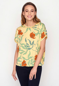 EcoVero T-Shirt Bluse Choice Blooming Lilly - GreenBomb
