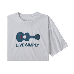 T-Shirt - M's Live Simply Guitar Responsibili-Tee - Patagonia