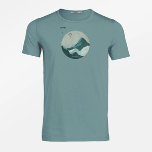 T-Shirt Spice Nature Sky Diver - GreenBomb