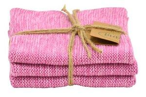nachhaltiges 3er Set Wischtuch aus 100% Bio Baumwolle  - Solwang