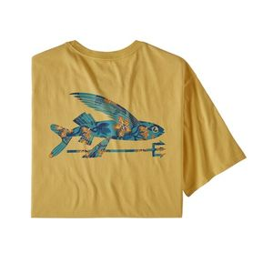 T-Shirt - M's Flying Fish Organic T-Shirt - Patagonia