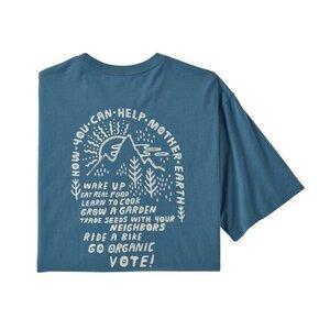 T-Shirt - M's How to Help Organic T-Shirt - Patagonia