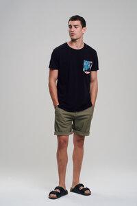 Casual T-Shirt #POCKET schwarz - recolution
