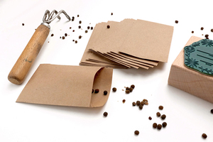Samentüten aus Kraftpapier, 10 Stück - STUDIO KARAMELO