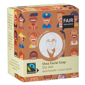 Fair Squared Shea Facial Soap Dry Skin - 2x80gr. - Fair Squared