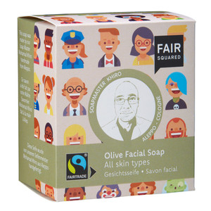 Fair Squared Olive Facial Soap - 2x80gr. - Fair Squared