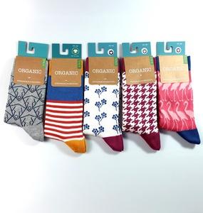 """Damen und Herren GOTS zertifizierte Biobaumwolle Socken  """"fünfer Pack"""" - VNS Organic Socks"""