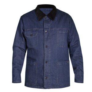 """Niklas"" warme Jeans Jacke aus Bio-Baumwolle mit Elasthan - orgnatur®"