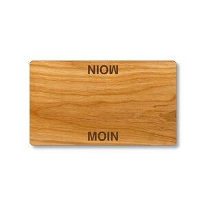 Hochwertiges Schneidebrett aus Kirschholz mit Gravur - echtholz