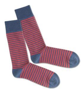 Socken - Red Sky Liner - Dilly Socks