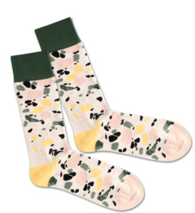 Socken - White Terrazzo - Dilly Socks