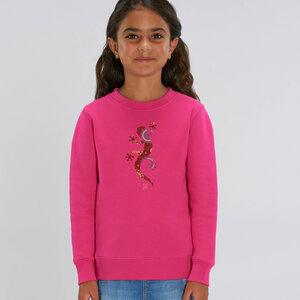 Sweatshirt mit Motiv / Gecko - Kultgut