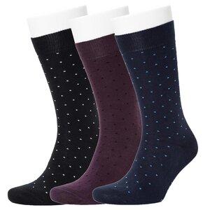3er Polka Dot Pattern Socks - Opi & Max
