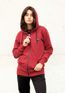 Unisex Basic Zip Hooded Sweat - Honesty Rules