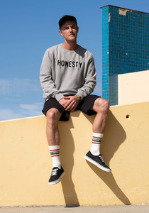 Logo Embro Sweat - Honesty Rules