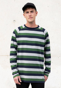 Big Striped Longsleeve - Honesty Rules