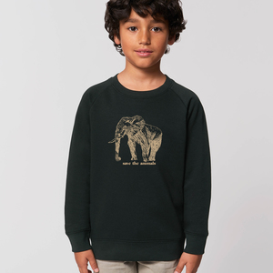 Sweatshirt Elephant/ Save the animals - Kultgut
