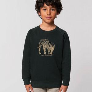 Sweatshirt Elephant/ Save the animals - Kultgut