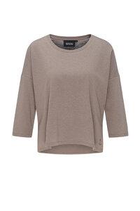 Damen Langarmshirt aus Bio Baumwolle und Hanf | Hanf Boxy Longsleeve - recolution