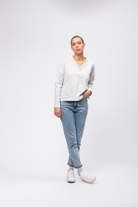 Casual Sweatshirt V-Neck - recolution
