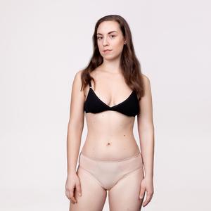 3er Sparpack Menstruations-Panty Slip Beige - KORA MIKINO SUSTAINABLE FEMCARE