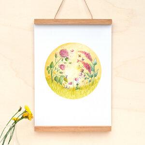 Kleine Sommerträumerei // Poster A4 - anabellstellmacher