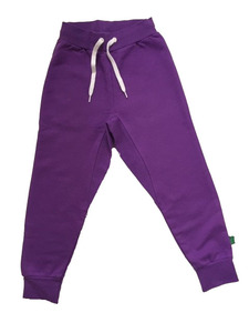 Sweat pants purple - Green Cotton