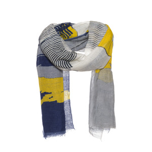 Schal mit Wolkenprint - AMOR Collections