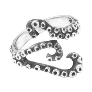 Silber Ring Tentakel Fair-Trade und handmade - pakilia