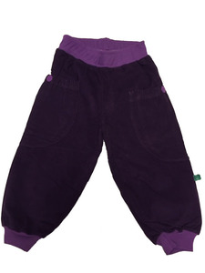 Corduroy pants girl - Green Cotton