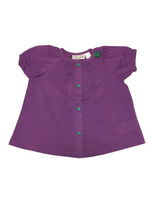 Poplin Top - Green Cotton