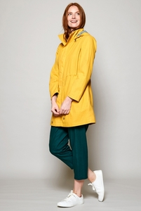 Organic Cotton Raincoat - Dandelion - Nomads Fair Trade Fashion