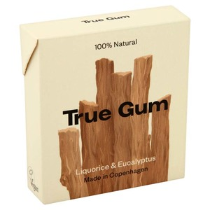 Kaugummi mit Lakritze und Eukalyptus  - True Gum