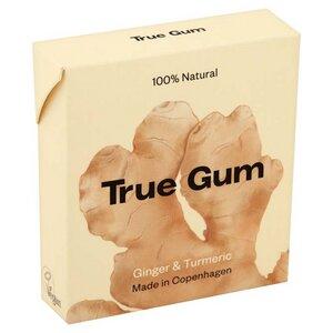 Kaugummi mit Ingwer und Kurkuma - True Gum