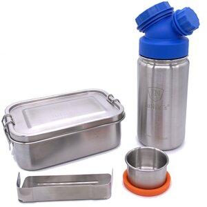 Einschulungs-Set: JuNiki´s® Lunchbox + Trinkflasche isoliert 8 Farben - JN JuNiki's